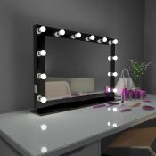 HOLLYWOOD MIRROR DOTS BLACK