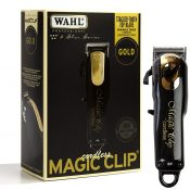 Wahl Professional 5-Star Series Black & Gold Cordless Magic Clip 8148-100